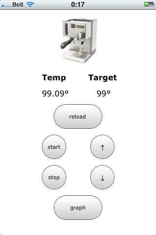 Rancilio Silvia iPhone Remote Control